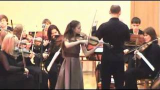 Й.Гайдн.Концерт для скрипки с оркестром №2, 1 ч.