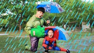 Superheroes Rain Rain Go Away | Nursery Rhymes & Kid Songs 영어동요 인기동요 함께 불러요! - 마슈토이 Mashu ToysReview