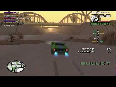 GTA-MultiPlayer.CZ - Bullet