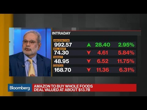The Macroeconomic Implications of Amazon-Whole Foods Deal