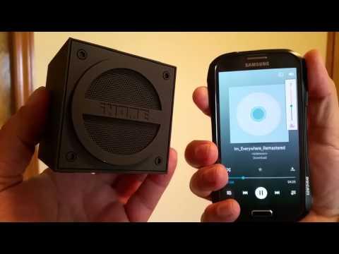 iHome Cube Powerful Bluetooth Wireless Speaker