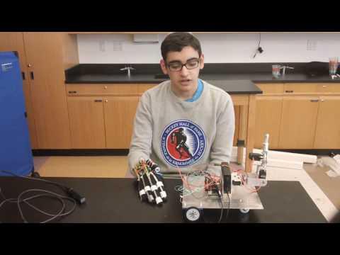 Netanel's Second Milestone - Gesture-Controlled Robot