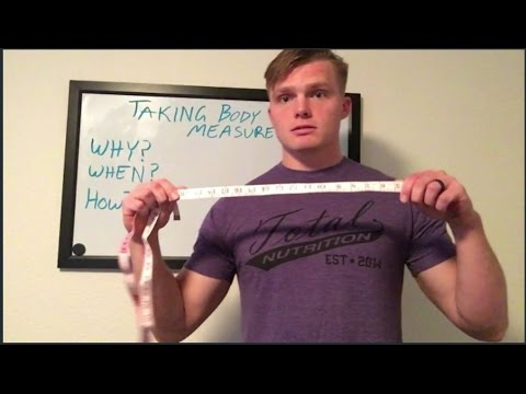 How to measure fitness progress. Cheap AT HOME body measurements.