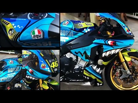 Worlds most AWESOME YZF-R6 PAINT JOB !