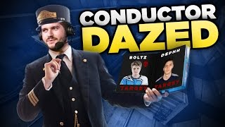 DAZED Conducting on Train