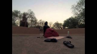 India Rooftop Sunrise Yoga Santiniketan Saturaday Market Baul Music