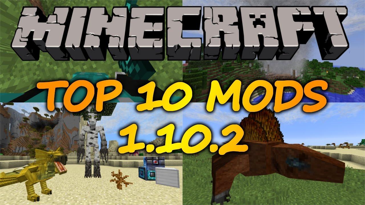 best minecraft 1.10 2 mods