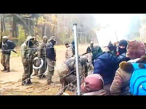 Поляки выдавливают беженцев в Беларусь