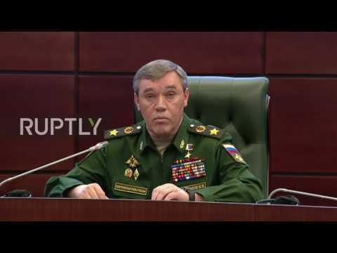 Russia: Moscow scaling down military presence in Syria, Chief of General Staff confirms