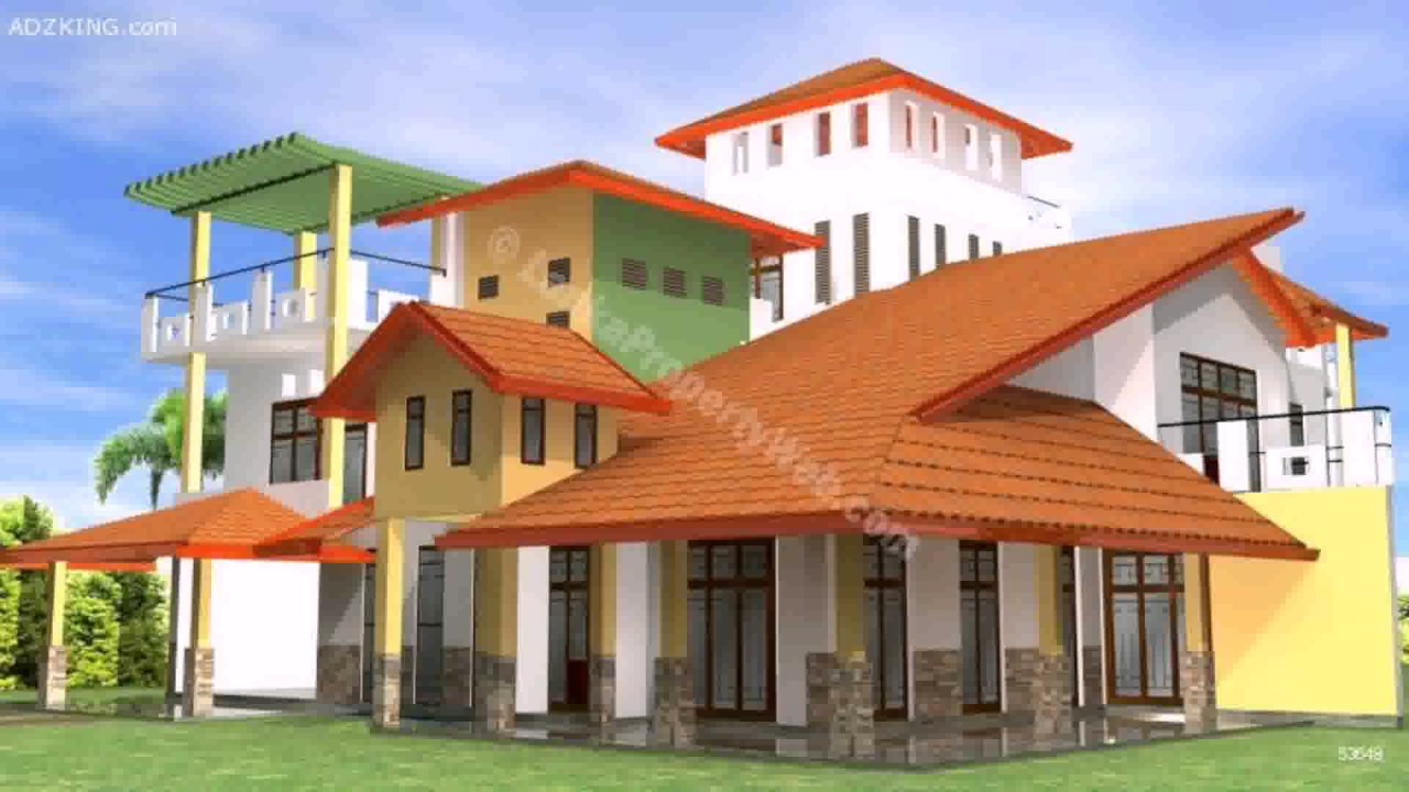House designs plans in sri lanka youtube for Sri lanka house plans designs