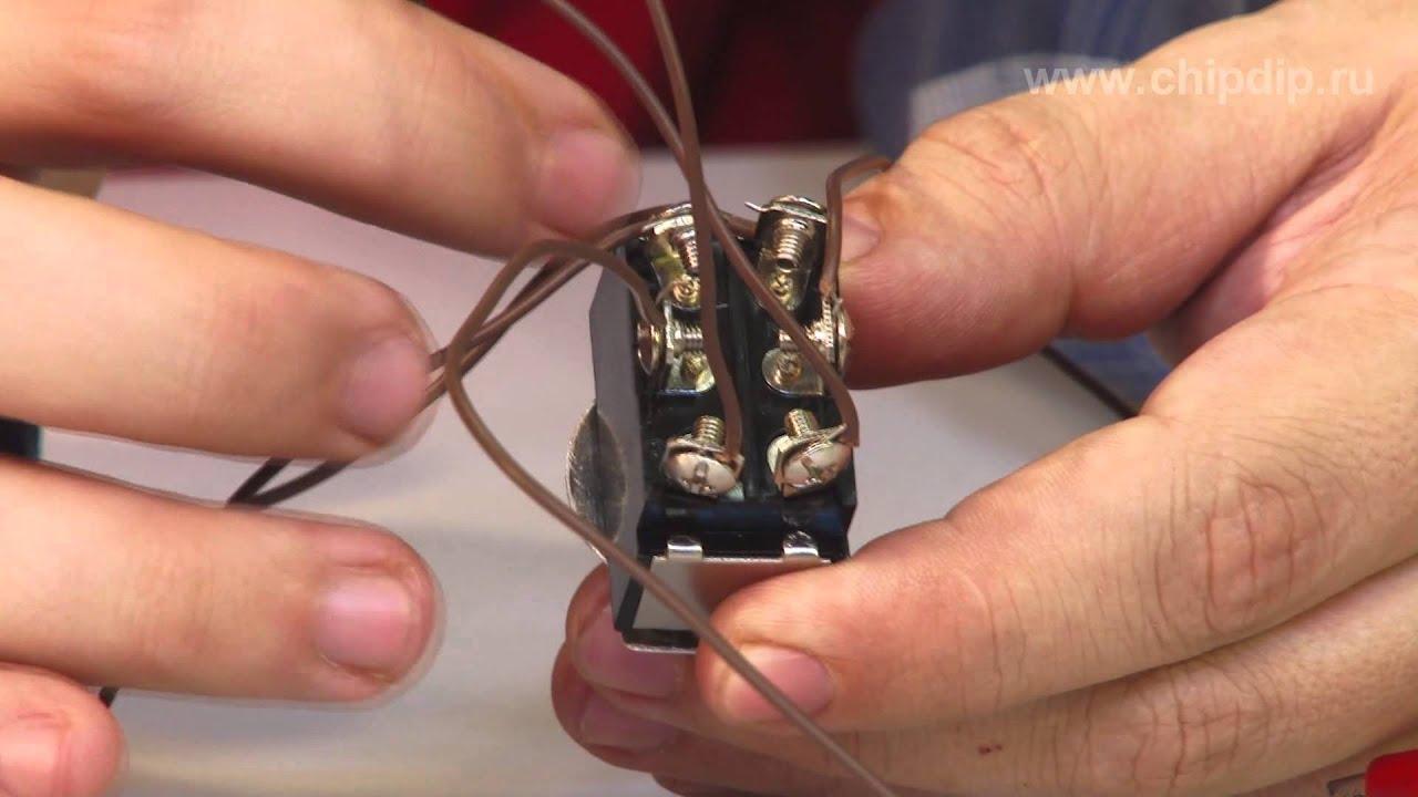 Подключение двигателя КД 6 4 в сеть 220 вольт - YouTube