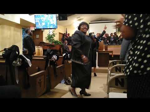 Mary Bailey and the mckenny Gospel choir