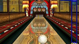 Microsoft Sam gets a perfect game in gutterball golden pin bowling
