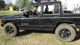 We turned a Cherokee into a truck?!