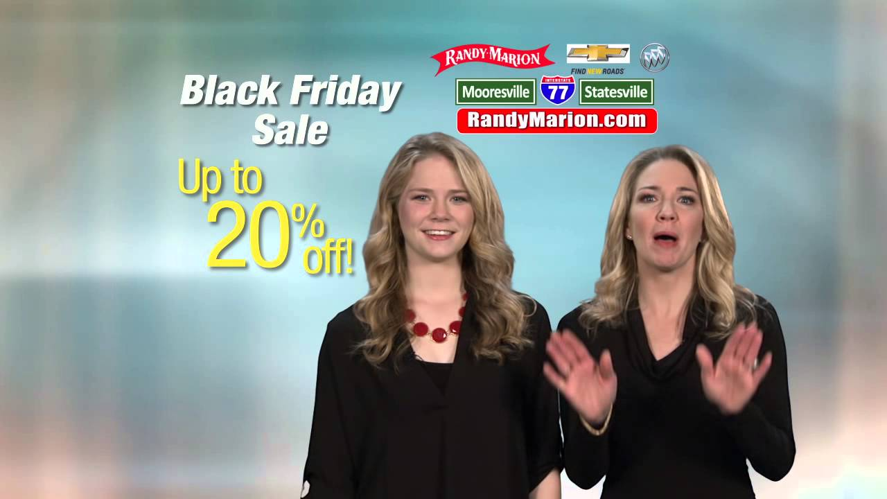 Randy Marion Chevy >> Randy Marion CHEVY BUICK BLACK FRIDAY - YouTube