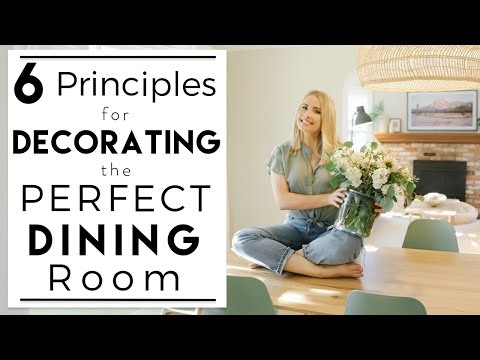 INTERIOR DESIGN | Tips for How to Decorate a Cohesive Dining Room | House to Home