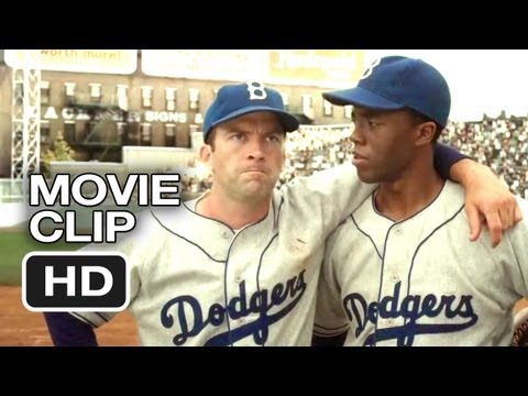 42 Movie CLIP - All Wear 42 (2013) - Jackie Robinson Movie HD