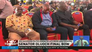 Politics of 'debt' rent the air as Senator Ben Oluoch is laid to rest in Kanyimach