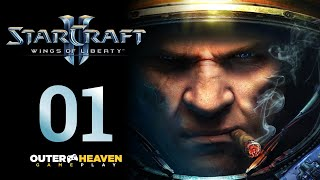 Starcraft Ii Wings Of Liberty - Parte 01 - Blizzard