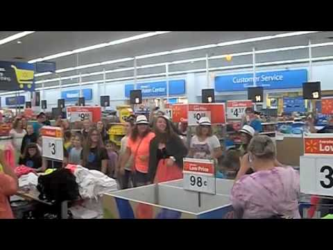 Walmart Flash Mob