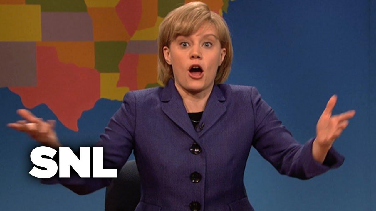 Weekend Update: Angela Merkel on Being the Peace Keeper - SNL