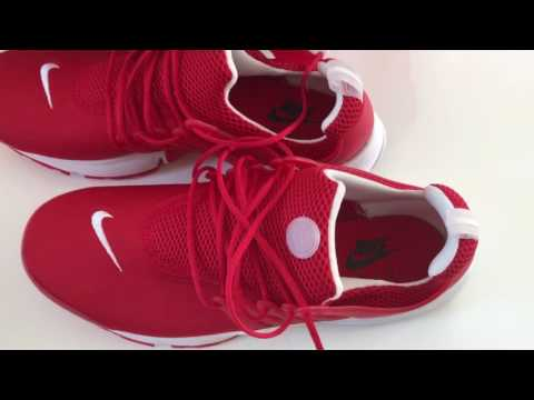 Nike Herren Air Presto Essential Trainer red rot Sneaker Turnschuh man