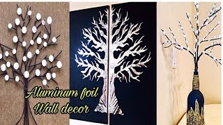 wall hanging craft Ideas | Aluminium foil craft | Fashion pixies |waste material craft | diy crafts