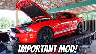 The GT500 Needed this + GT500 Battles FBO CTSV and Procharged Coyote