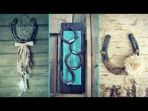 ❤ DIY Shabby chic style  Horseshoe decor Ideas ❤| Home decor & Interior design| Flamingo Mango|