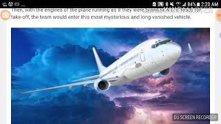 ASMR Whisper reading about Santiago flight 513