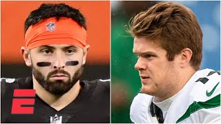 Could the Browns and Jets move on from Baker Mayfield and Sam Darnold? | KJZ