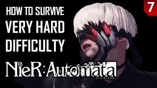 Nier Automata - Very Hard Guide - Part 7: The Copied City