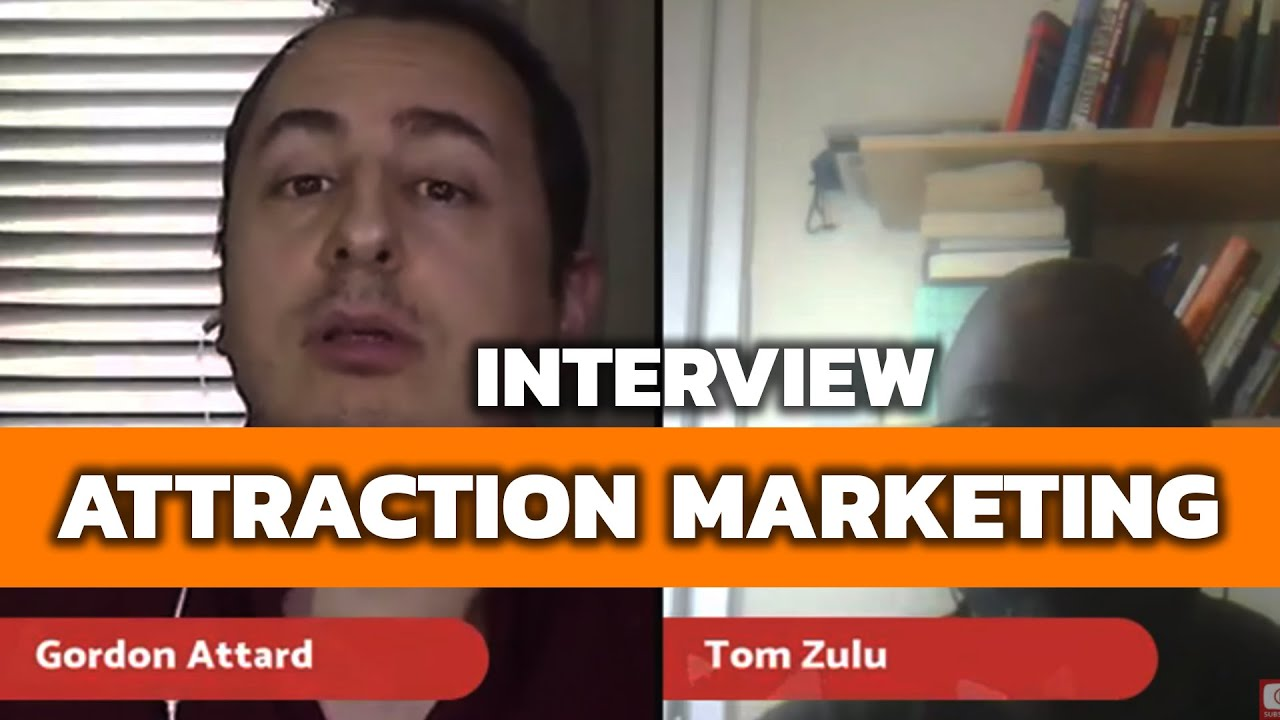 Attraction Marketing for Network Marketing - Gordon Attard Interview (2018)