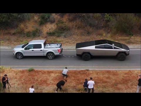 \'Bring it on\'—Tesla\'s Cybertruck battles Ford\'s F-150 in a pickup truck showdown