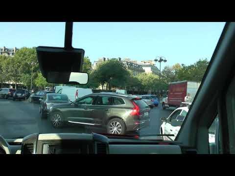 Front Seat View Viking Narrated Panoramic Bus Tour Of Paris (1 Of 2)