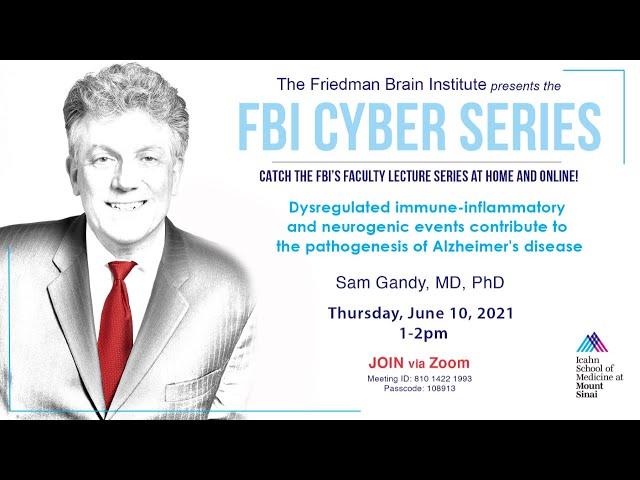 FBI Cyber Series - Sam Gandy, MD, PhD