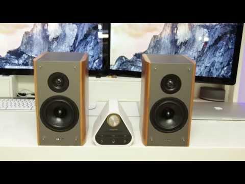 Creative Labs X7 Sound Blaster & XM7 Bookshelf Speakers