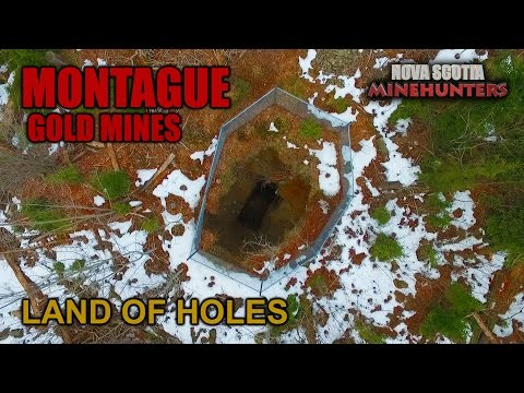 Ep.17 MONTAGUE - LAND OF HOLES  Abandoned Shafts