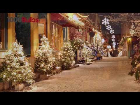 35 Clear Mini Christmas Lights - 12-Ft. Stringer - Commercial Duty
