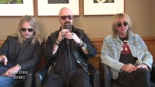JUDAS PRIEST ASKED IF KK DOWNING HAS HEARD THEIR NEW RECORD REDEEMER OF SOULS