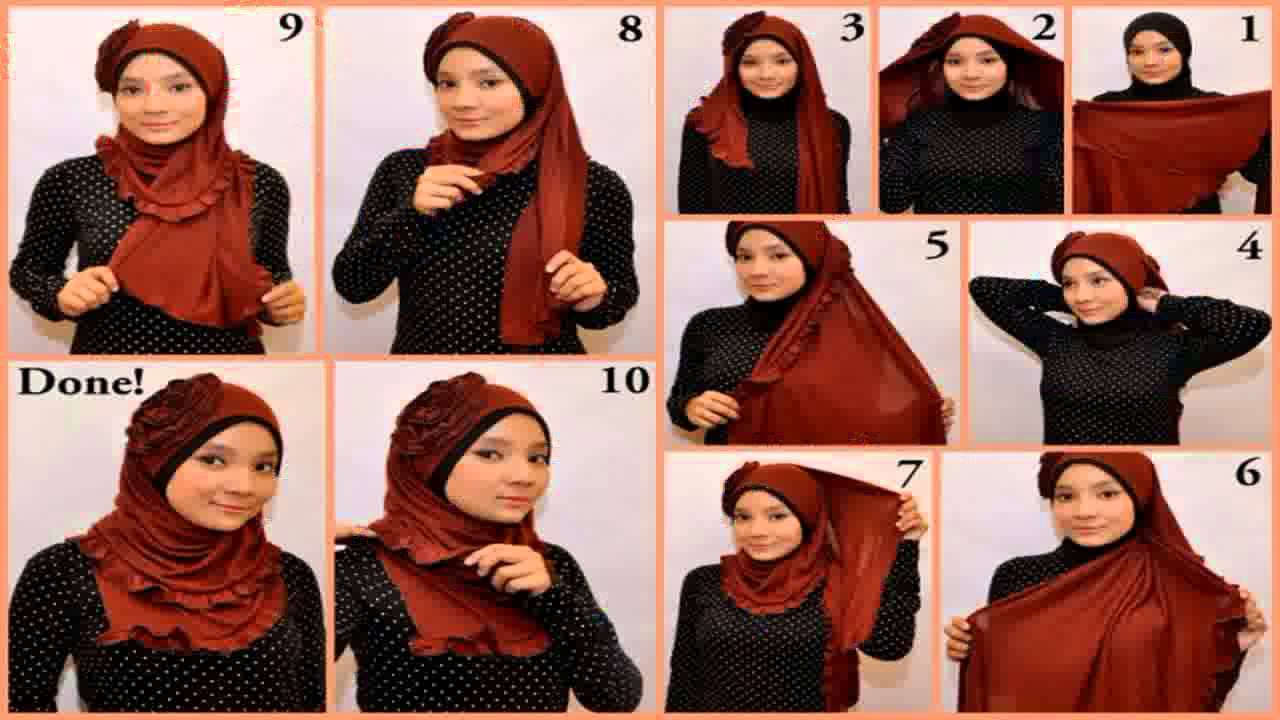 Tutorial Hijab Pesta Pernikahan Modern Dan Simple By Revi 138