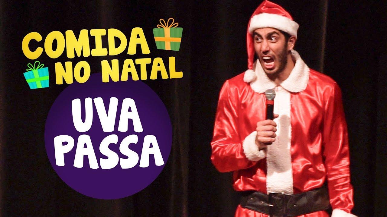 STAND UP - Comida no Natal / UVA PASSA - Jonathan Nemer