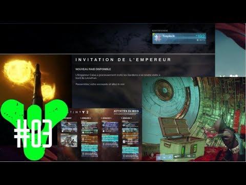 Calendrier Destiny 2.Destiny 2 Info Poudriere Raid Calendrier Youtube