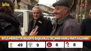 Bitlis Detay - Bitlis Merkez'de Belediye Başkanlığı Seçimini Hangi Parti Kazanır? (Anket/Röportaj)