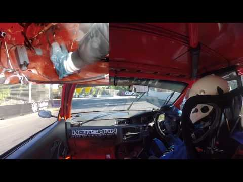 Improved Production Clipsal Civic Vs AE86