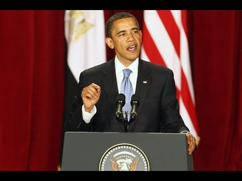 President Obama Speech to Muslim World in Cairo  - English subtitles