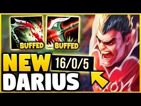 *NEW* BUFFED DARIUS IS 1000% BEYOND BROKEN! THESE BUFFS MAKE HIM 10/10 GOD-TIER! - League of Legends