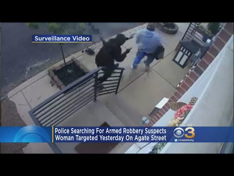 2 Suspects Wanted For Robbing Woman At Gunpoint In Philly