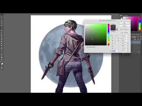 Digital Painting Character Design Demo