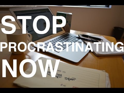 5 Steps to Stop Procrastinating, Focus & Be Productive